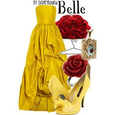Belle, created by lalakay.polyvore.com