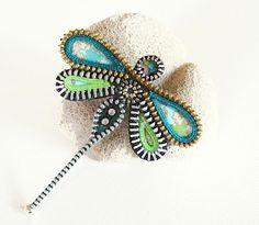 Zipper Dragonfly - Kristina Ryan Designs