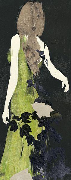Green Dress. Art