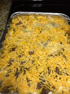 Baked Breakfast Casserole cook, breakfastcasserol, idea, breakfast casserole, bake breakfast, brunch, breakfast food, recip, photo