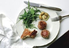Lamb Sausage Patties with Fresh Mint, Feta, and Garlic - Bon Appétit