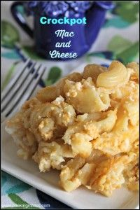 Crockpot Mac and Cheese - Cooking in Bliss