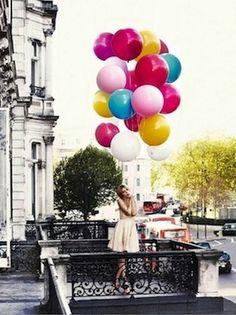 Colorful Paris balloons, Image Via: Sayuki