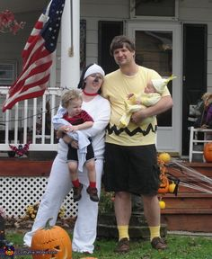 Peanuts! - Halloween Costume|  #DIY #Halloween #HalloweenCostumes #Costumes #Group #Family