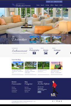 MiamiDistinctiveHomes.com Fully responsive, custom theme.