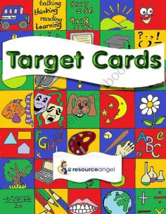 Target Cards - Encouraging Printables from Resource Angel on TeachersNotebook.com -  (32 pages)  - In Great Britain Target Cards have been used for many years to encourage children to understand and take responsibility for their progress.