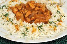 Ryż z kurczakiem i ananasem / Rice with chicken and pineapple