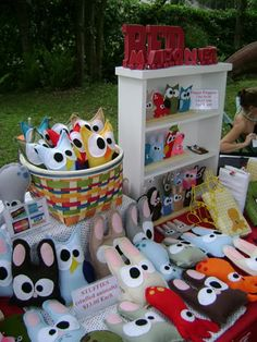 Cute booth display