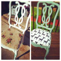Repurpose chair:-)