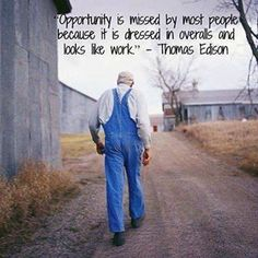 Opportunity is in America for those who want it.