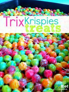 Trix Krispie Treats Recipe