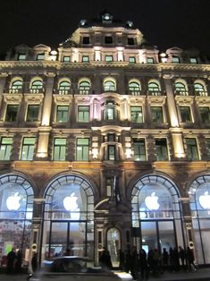 London's Apple Store