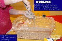 Oobleck |Play to Learn Preschool