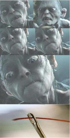 yeah im pretty sure we all look like that when it comes to threading a needle haha