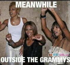 Meanwhile Outside The Grammys