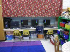 Computer Station set-up