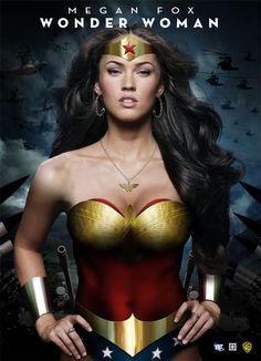 Megan fox as Wonder Woman??