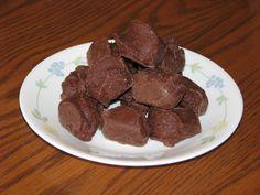 Trim Healthy Mama {Rich Chocolate Fudge}