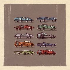racecars by Rob Laro