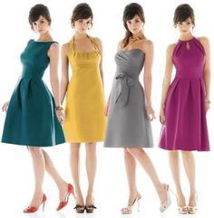 men styles, dress collection, bridesmaids, bridesmaid dresses, green, colors, the dress, dress designs, grey dresses