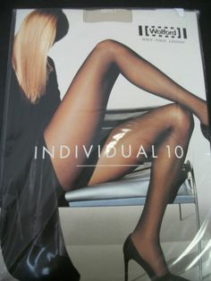 WOLFORD Individual 10 Tights Marmor Matte Transparency Size Small New NIB