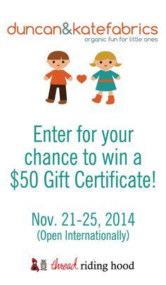 Win a $50 Gift Certi