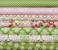 These are gorgeous! Hello Luscious by Basic Grey for Moda Fabrics