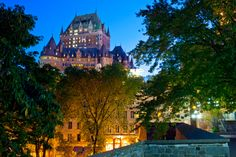 If you've dreamed of going to France, but thought it was too far or too expensive, you're in luck. Quebec City is the next best thing to a French getaway. And you don't need to speak French. Most locals are bi-lingual so you can get by with English.