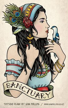 - Gypsy Tattoo - by Sam Phillips -