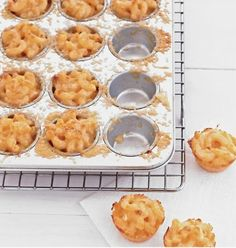 Hmm, appetizer party? mac-n-cheese bites.