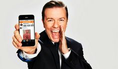 Great Mashable article on Just Sayin' and Ricky Gervais