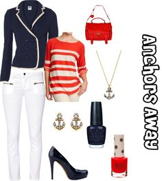 """""""Anchors Away"""" by sourcheeks on Polyvore"""