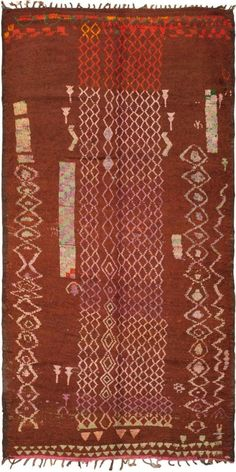 Beautiful browns - rug