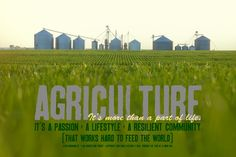 Agriculture: this would be awesome on a tshirt