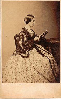 Reading Cdv by Whipple of Boston, Massachusetts