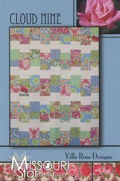 RoseCards - Cloud Nine Pattern from Missouri Star Quilt Co