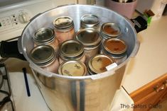 Canning chicken - The Sisters Cafe