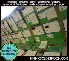 coordinate grids...camping examples-use for updated dream room project and 3D figures
