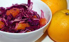 Cabbage Orange Salad #paleo #gf #glutenfree #recipe #diet #lowcarb  #carbfree #lowcarb # #eatclean #healthyeating #eatingclean #vegan #slaw