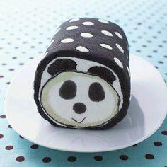 Panda cake panda food, cake rolls, panda roll, roll cakes, polka dot, panda cake, dot roll, dot cake, pandas