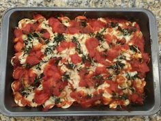 Easy Meals {Spinach Ravioli Bake} - GO MOM! Delicious every day, busy night dinner idea from Taste of Home ~ you have to try it!