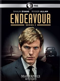 ENDEAVOUR SERIES 1 & 2. This prequel to the Inspector Morse series follows the continuing stories of rookie Constable Endeavour Morse.  http://highlandpark.bibliocommons.com/search?utf8=%E2%9C%93&t=smart&search_category=keyword&q=endeavour+allam&commit=Search