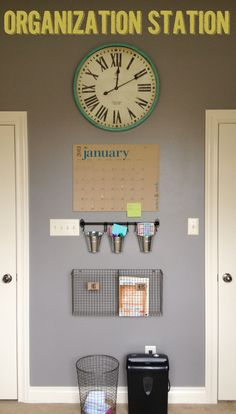 Organization Station   Fabulously Organized Home