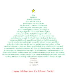 How to create a #Christmas #letter in shape of tree