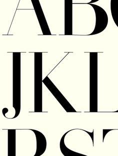 Et ben didot… #Typographie #graphisme #type