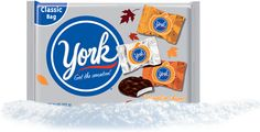 York Peppermint Patty Halloween Pumpkins, by Hershey's, are peanut-free.