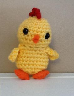 """Crochet Amigurumi Easter Chick"" #Amigurumi  #crochet"