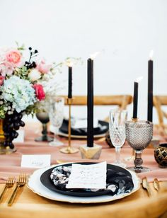 Modern wedding inspi