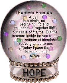 """""""Forever friends♔PM"""" - From Our Delightful Premila, With Sincere Thanks & A Smile ;) xox"""