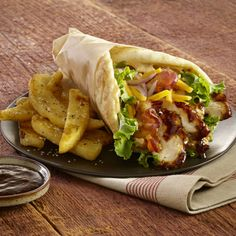Perfect for any lunch or picnic, these smoky barbeque wraps are sure to satisfy.